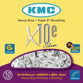 KMC X-10e E-Bike Kette 10-fach silber